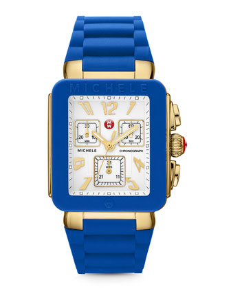 Park Jelly Bean Watch, Blue/Yellow Golden