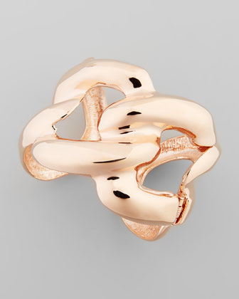 Rose Golden Chain Link Cuff