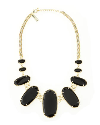 Ginger Necklace, Black