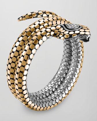 18k Dot Cobra Bracelet