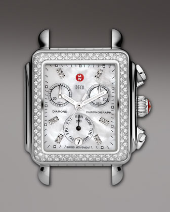 Deco Diamond Watch Head