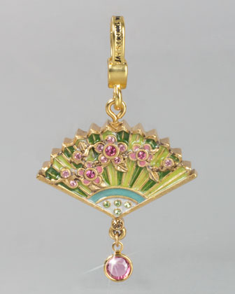 Chinoiserie Fan Charm