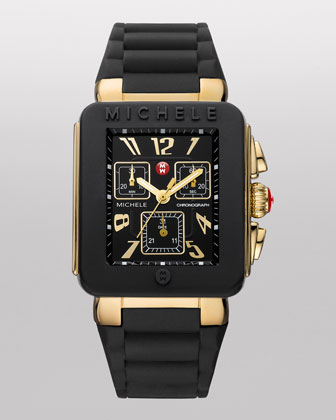 Park Jelly Bean Watch, Golden/Black