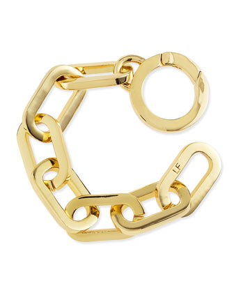 Dakota Chain-Link Bracelet, Gold