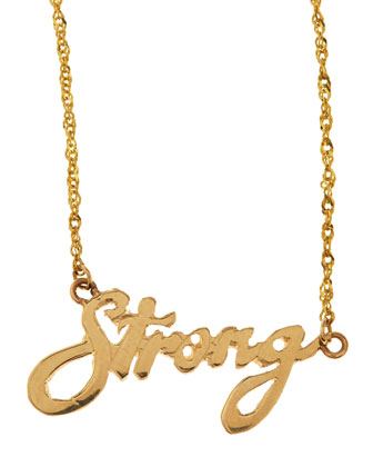 Mini Strong 14k Gold Necklace