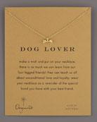 Dog Lover Bone-Pendant Necklace