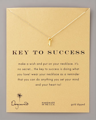 Key to Success Pendant Necklace