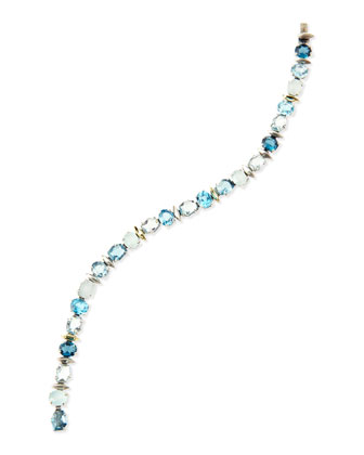 Midnight Marquise Tennis Bracelet