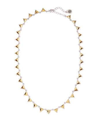 Meterora Floating Metal Collar Necklace