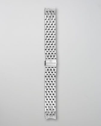 Serein Diamond Two-Tone Watch Head & Diamond Taper 7-Link Bracelet Strap
