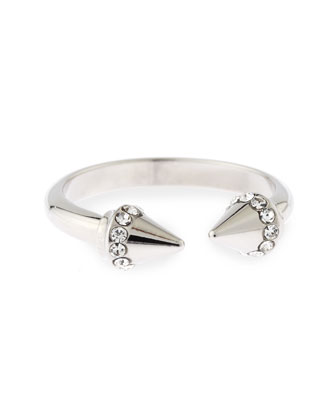 Ultra Mini Titan Midi Ring, Silver