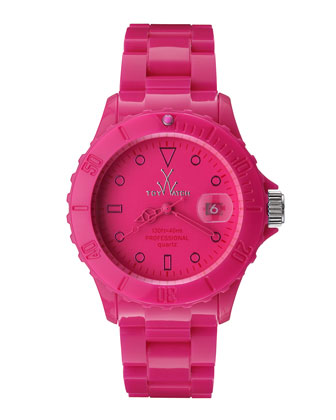 39mm Plasteramic Watch, Pink