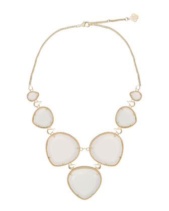 Rebecca Necklace, Mother-of-Pearl