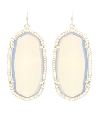 Danielle Earrings, Iridescent
