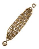 Hammered Bundle Bracelet