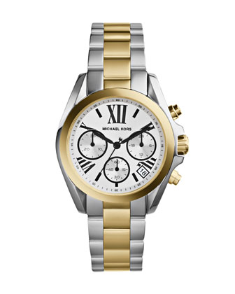 Mini Two-Tone Stainless Steel Bradshaw Chronograph Watch