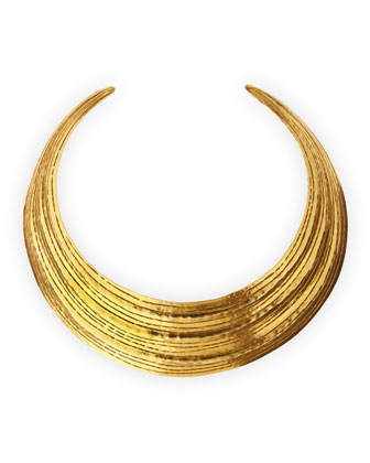 Salome Gold Collar Necklace