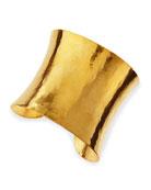 Epure Concave Gold Cuff