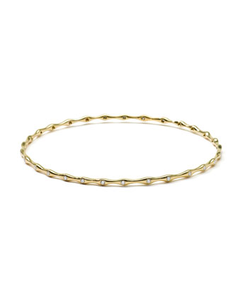18K Gold Superstar 29-Diamond Bangle (0.44ctw)