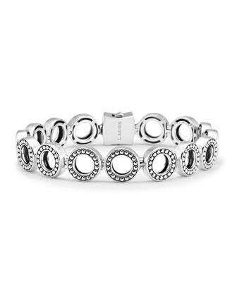 Enso Sterling Silver Multi Link Bracelet