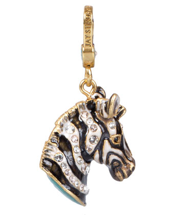 Bruce Zebra Charm
