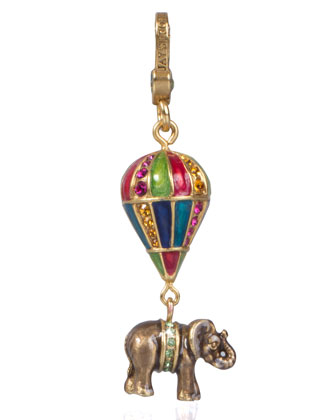 Howie Elephant on Balloon Charm