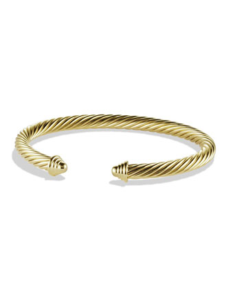 Cable Classics Bracelet in Gold