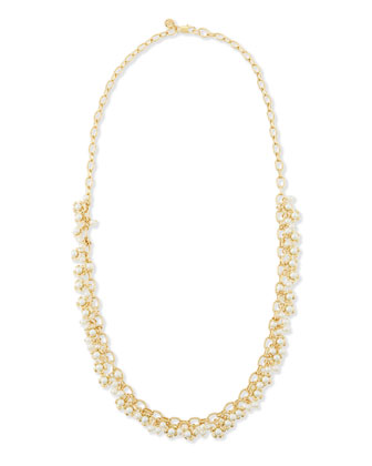 Katie Cluster Rosary Necklace, 34