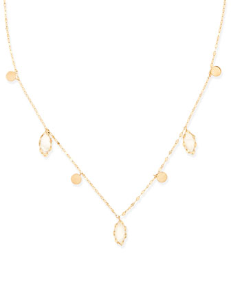 Dream Gypsy 14k Gold & Moonstone Necklace