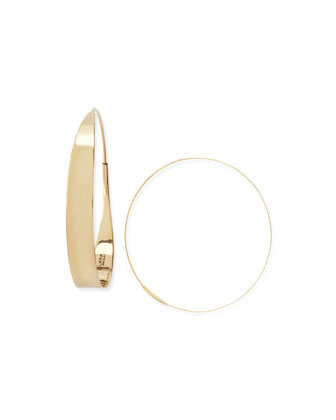 14k Large Glam Hoop Earrings