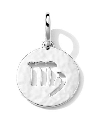 Sterling Silver Zodiac Charm, Virgo