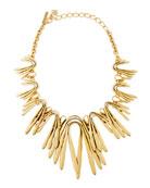 Golden Wave Necklace