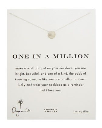 One in a Million Silver Necklace