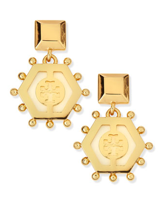 Caroline Drop Earrings, Ivory