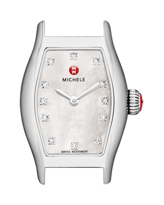 Urban Coquette Mother-of-Pearl Diamond-Dial Watch Head