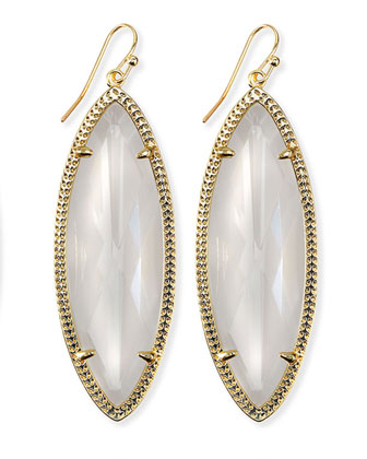 Jessa Marquise Earrings, Crystal