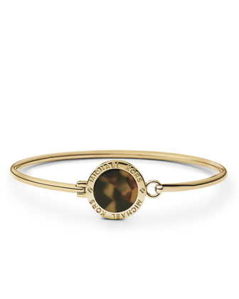 Tortoise Logo Bracelet, Golden