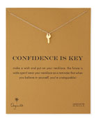 Gold-Dipped Confidence is Key Necklace