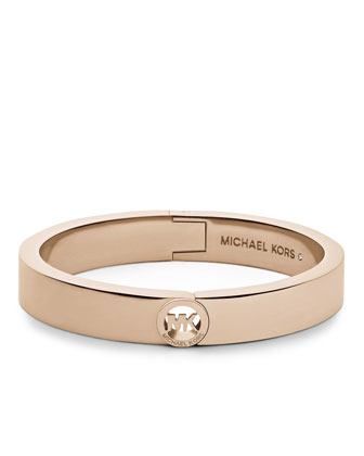 Fulton Skinny Bangle, Rose Golden