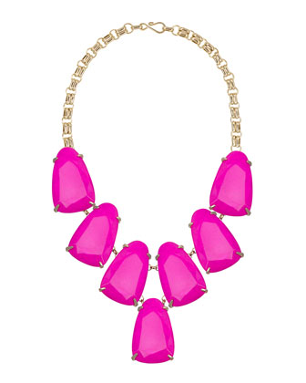 Harlow Necklace, Magenta