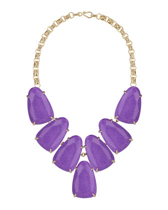 Harlow Necklace, Violet