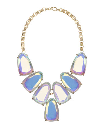 Harlow Necklace, Iridescent