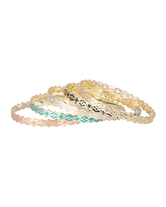Morocco Mollie Bangle Set, Five-Piece