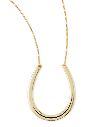 Horseshoe Chain Necklace, 30