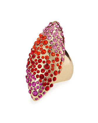 Gradient Pave Ring