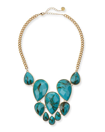 Pietra Stone Chain Necklace
