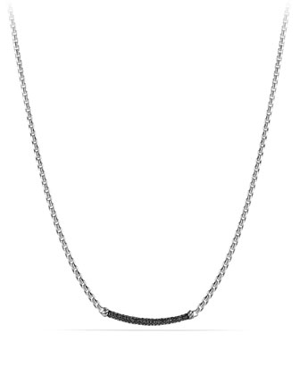 Metro Pave Station Necklace