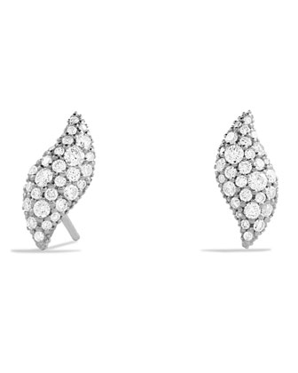 Hampton Earrings with Diamonds