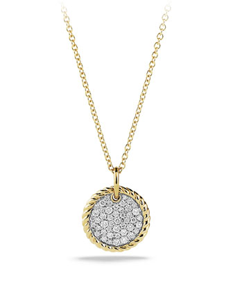 Cable Collectibles Pav?? Charm with Diamonds in Gold