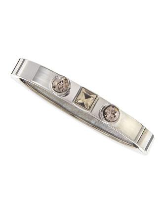 3-Station Bracelet, Hematite